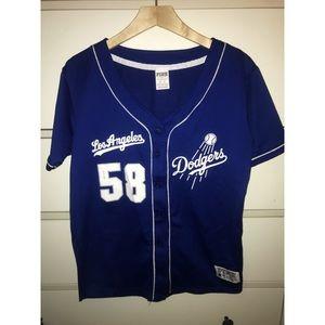 Victoria's Secret Pink MLB Dodger Jersey